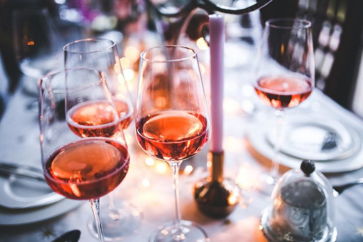 Rose Wine in glasses. Ideal Wine Company writes about Rose Wine.