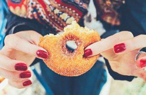 Ideal Wine Company prosecco doughnuts