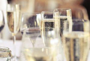 Ideal Wine Company Prosecco in flutes