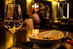 Ideal Wine Company wine and Thai food