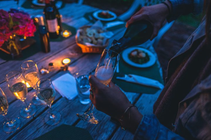 Ideal Wine Company Champagne and food pairings