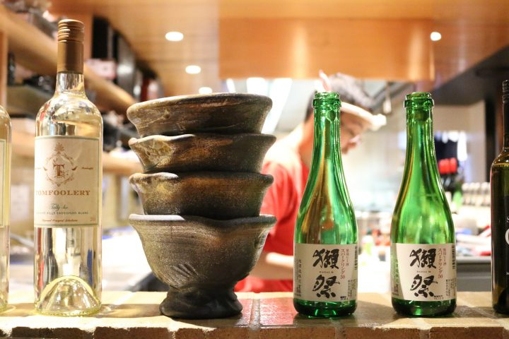 Matching wines with Japanese food